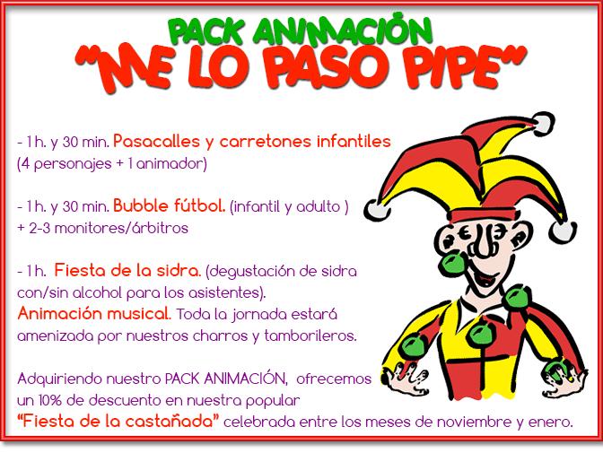 Pack Animacion Asadina Juegos Y Castanadas Para Fiestas En Salamanca